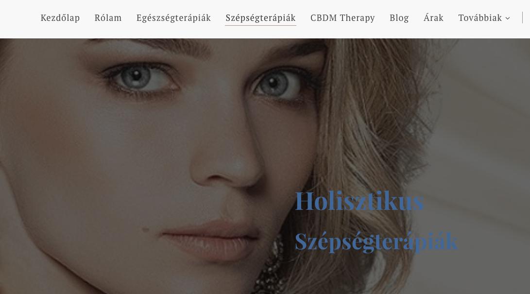 holisztikus szépségterápia